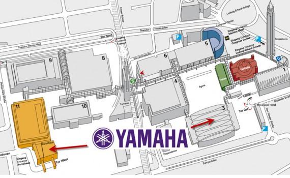 Yamaha auf der Musikmesse