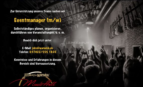 Warwick Eventmanager