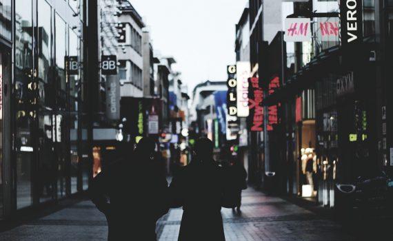 Shopping-Innenstadt