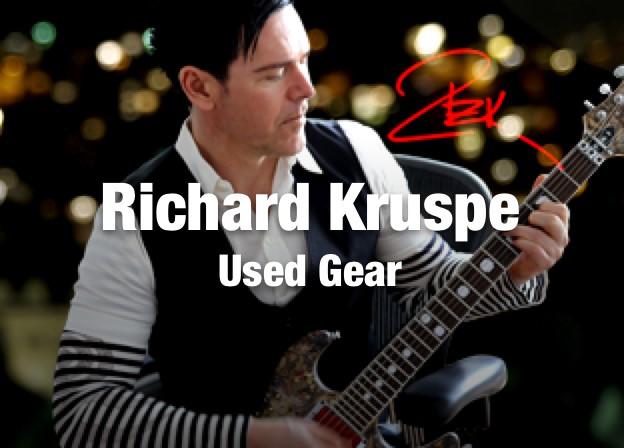 Richard Z. Kruspe Gear