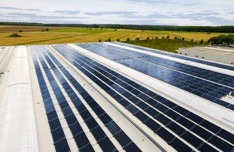 Photovoltaikanlage bei K&M
