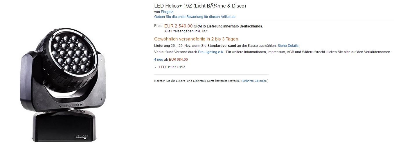 LED Helios+ 19Z