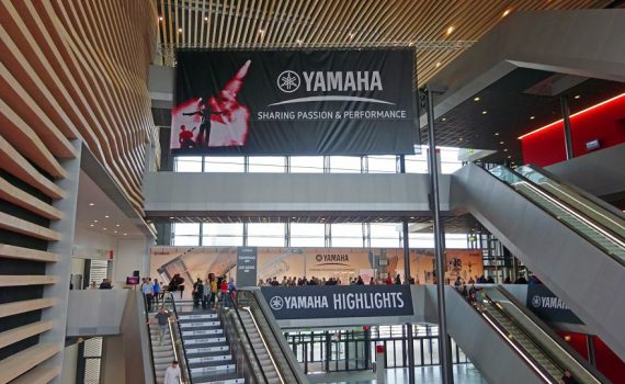Yamaha auf der Msuikmesse