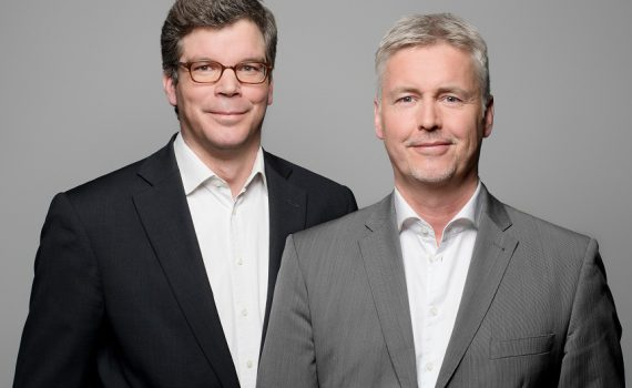 Dr. Tilo Gerlach (links) und Guido Evers (rechts)