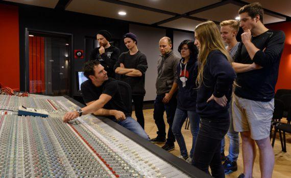 Abbey Road Institute - Frankfurt, Unterricht in Studio 1