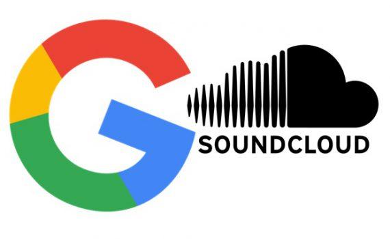 Google und Soundcloud