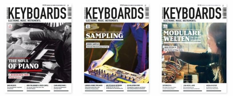 Keyboards Ausgaben