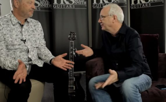 Paul Reed Smith und Dieter Roesberg