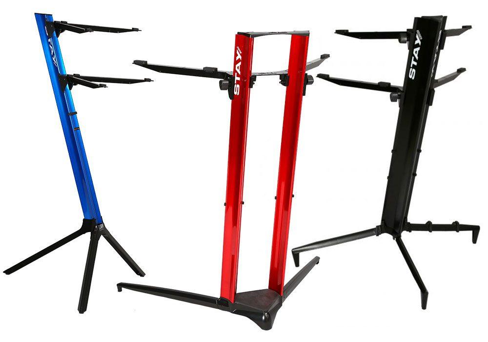 66d0f49220b06a Die Slim-Reihe (UVP  149 Euro ) ist für Keyboarder und Live-Performer  gedacht und kann bis zu 10 kg Gewicht tragen. Die Tower-Stative (UVP  229  Euro) können ...