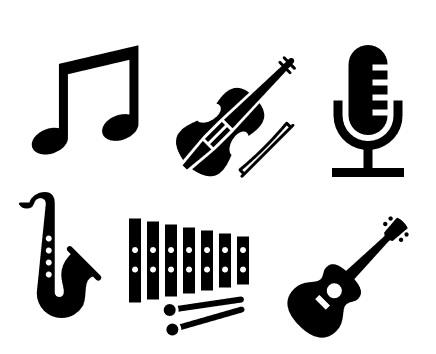 Instrumente Music Musik