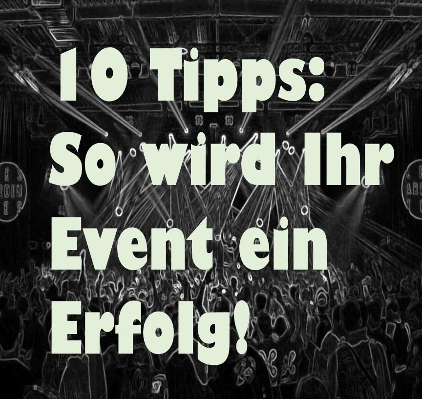 Event Tipps