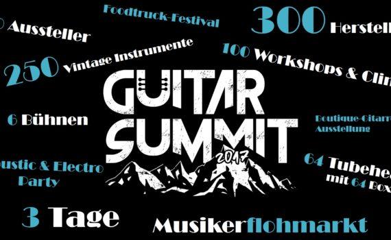 Guitar Summit Zahlen & Fakten