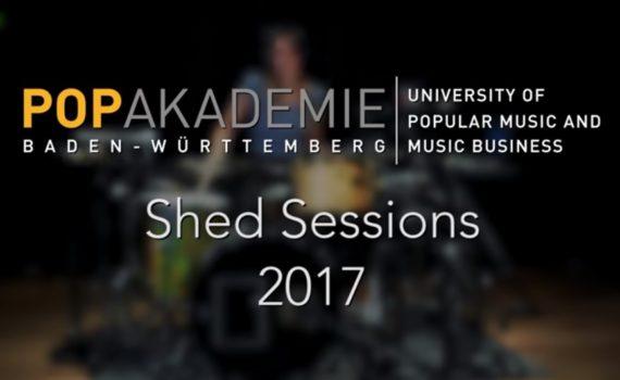 """Popakademie kooperiert mit onlinelessons.tv für die """"Shed Sessions"""""""