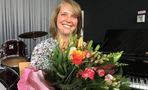 Strahlende Siegerin: Tanja Schick