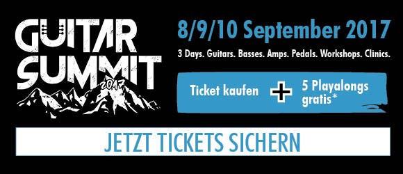 Guitar Summit Aktion