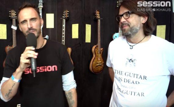 Nik Huber auf dem Guitar Summit