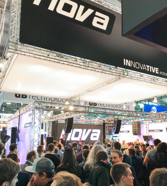 NOVA Audio auf der prolight+sound