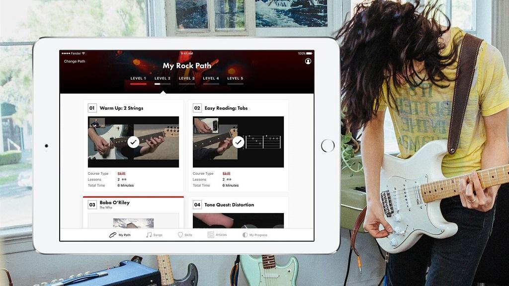 Fender Play Screen