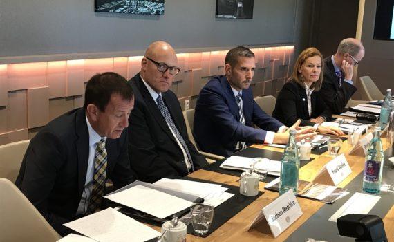 Pressekonferenz zur Jahresbilanz der Westfallenhallen Dortmund mit Hauptgeschäftsführerin Sabine Loos.