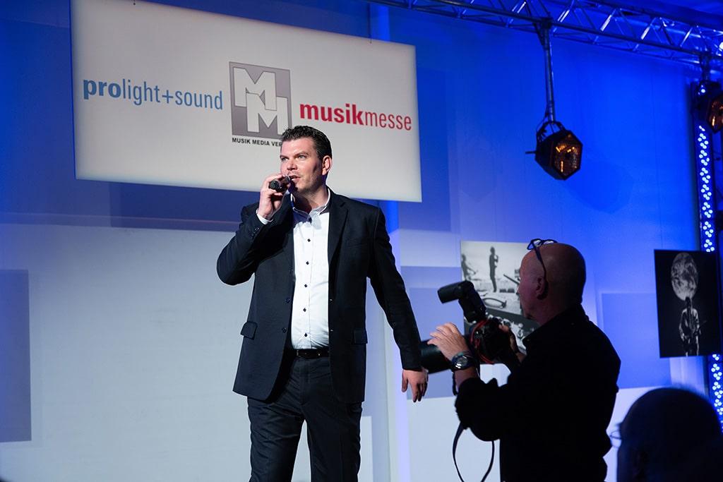 Michael Biwer, Group Show Director des Bereichs 'Entertainment, Media & Creative Industries' der Messe Frankfurt Exhibition GmbH