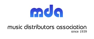 MUSIC DISTRIBUTORS ASSOCIATION Logo