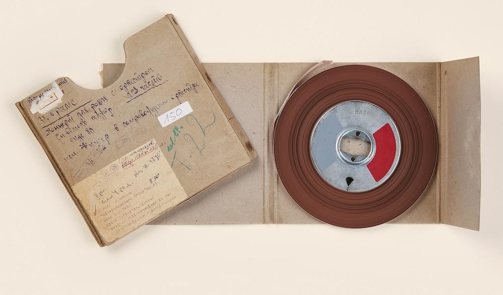 Historische Tonbänder
