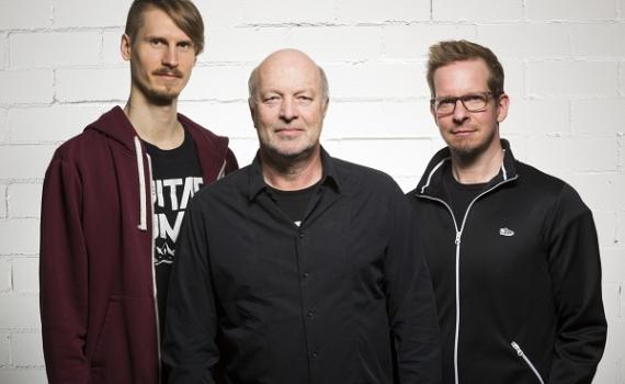 Vlnr: Stefan Braunschmidt, Dieter Roesberg, Florian Stolpe