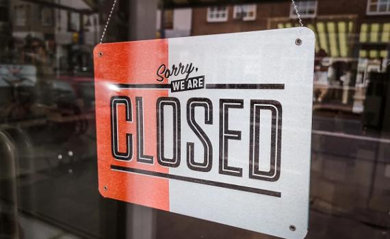 Closed Schild