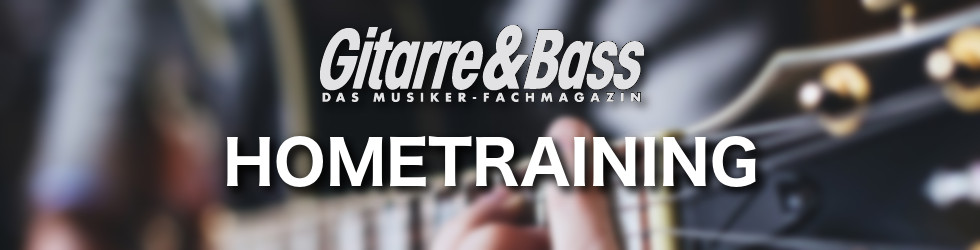 Gitarre & Bass Hometrainings