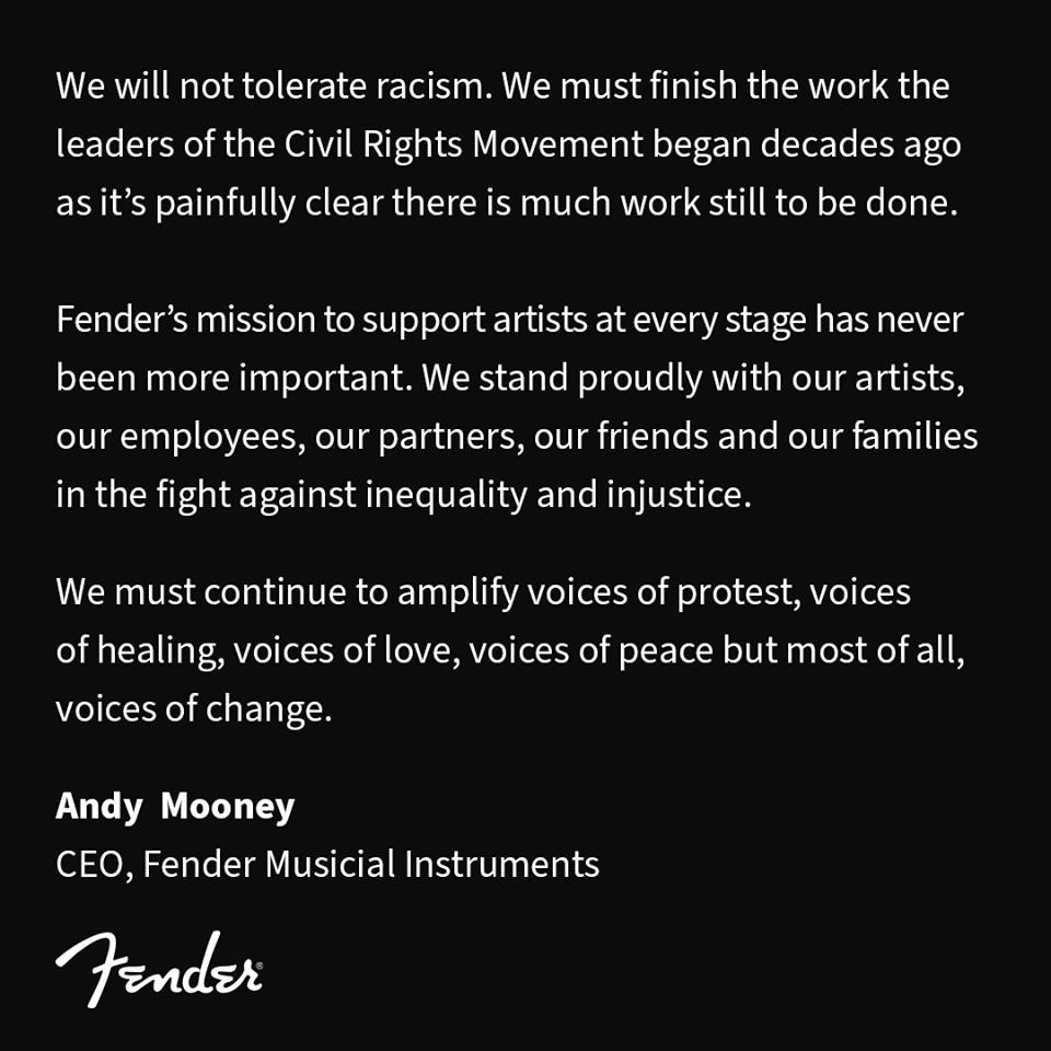 Fender Statement