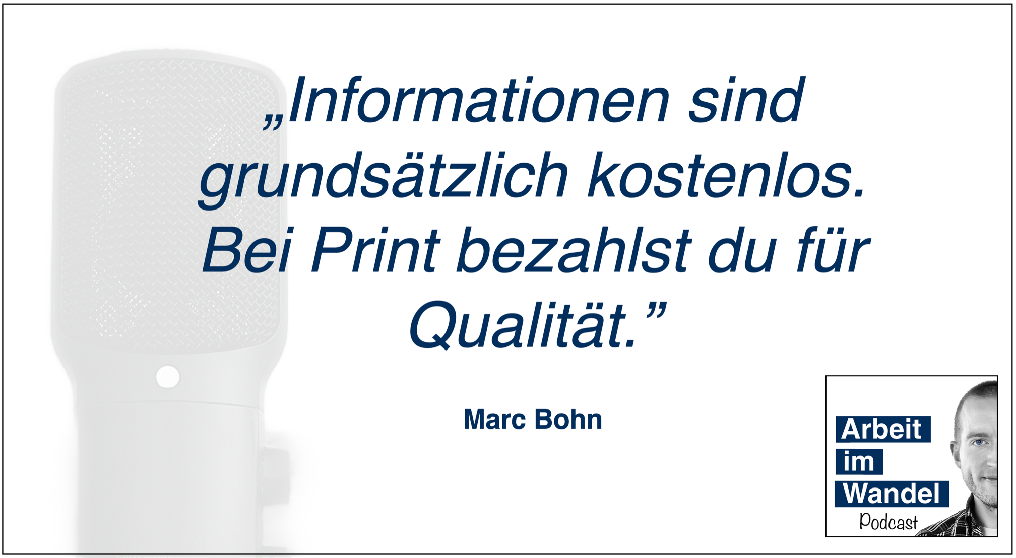 Marc Bohn Quote