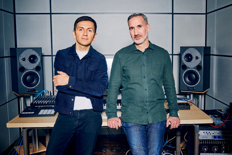 Mate Gallic und Daniel Haver