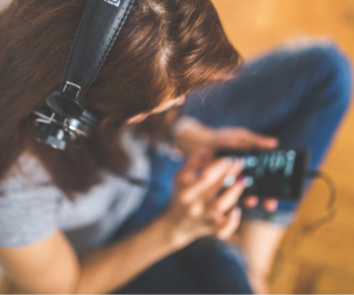 Musik hören handy