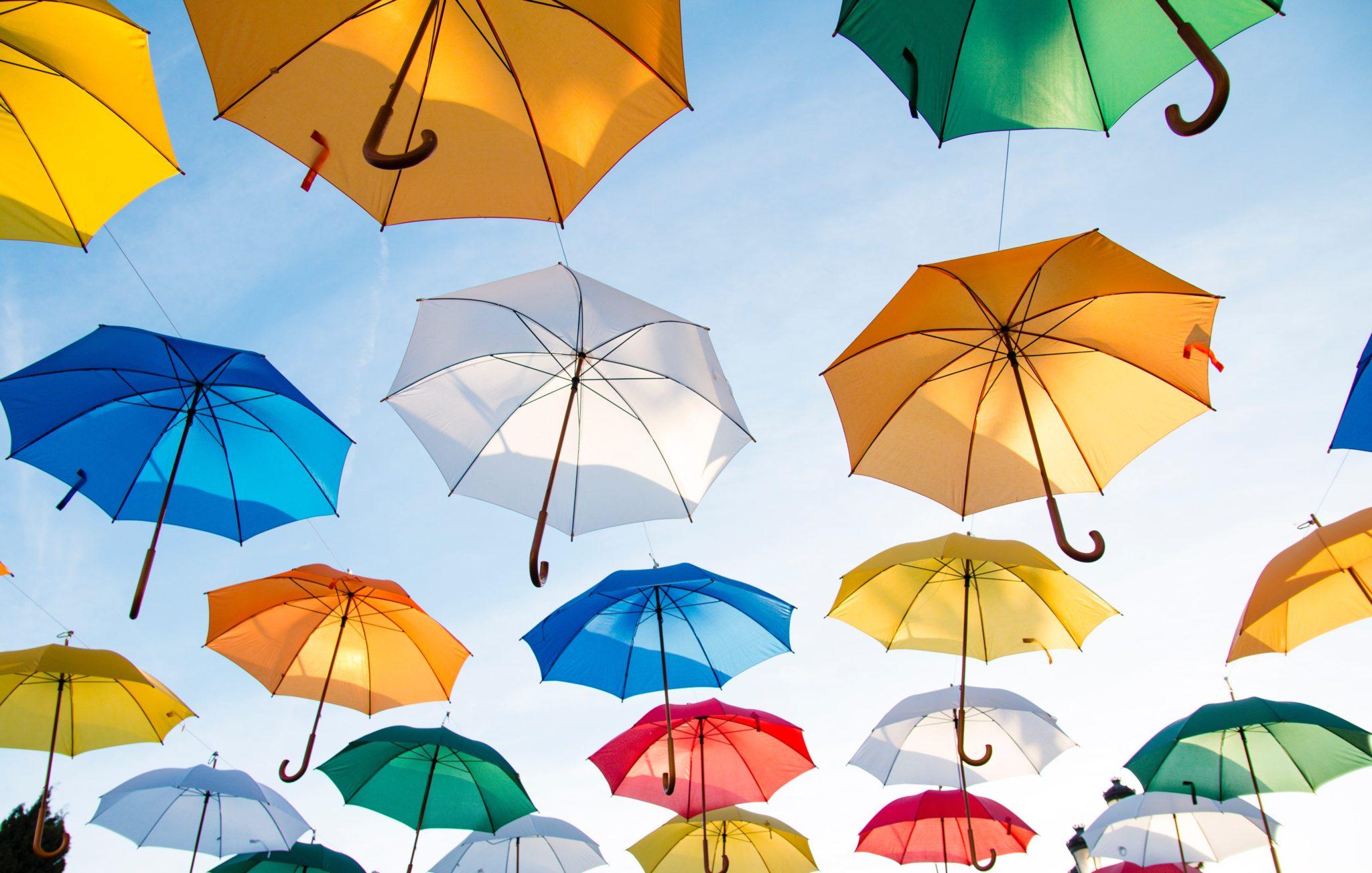 Regenschirm-Schutzschirm